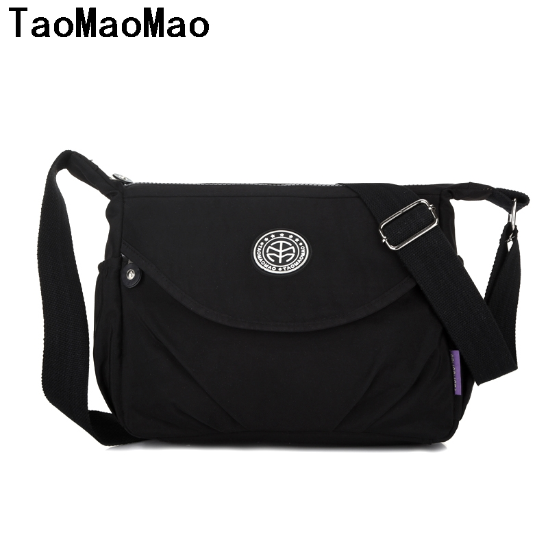 Hot Sale Handbag Women Messenger Bags for Women Bag Waterproof Nylon Ladies Shoulder Crossbody Bags sac a main bolsa feminina vogue star women bag for women messenger bags bolsa feminina women s pouch brand handbag ladies high quality girl s bag yb40 422