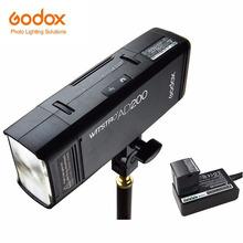 GODOX AD200 AD200Pro TTL 2 4G HSS 1 8000s latarka kieszonkowa podwójna głowica 200Ws z 2900mAh bateria litowa stroboskop cheap Fujifilm NIKON Canon Olympus Sony CN (pochodzenie) AD200 ad200 pro 2 1kg 25 x 18 x 10