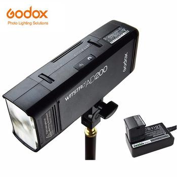 GODOX AD200 AD200Pro TTL 2 4G HSS 1 8000s latarka kieszonkowa podwójna głowica 200Ws z 2900mAh bateria litowa stroboskop tanie i dobre opinie Fujifilm NIKON Canon Olympus Sony CN (pochodzenie) AD200 ad200 pro 2 1kg 25 x 18 x 10