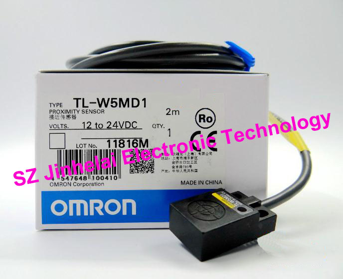 100% New and original  TL-W5MD1 OMRON  Proximity sensor,Proximity switch, 2M  12-24VDC [zob] 100% new original omron omron proximity switch tl w3mc2 2m 2pcs lot