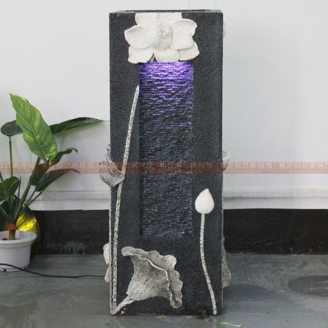 feng shui water fountain in living room modern living room floor decoration humidifier indoor 27561