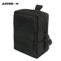 600D Nylon Portable Outdoor Tactical Accessory Pouch Molle System EDC Sundries Bag Military Emergency First Aid