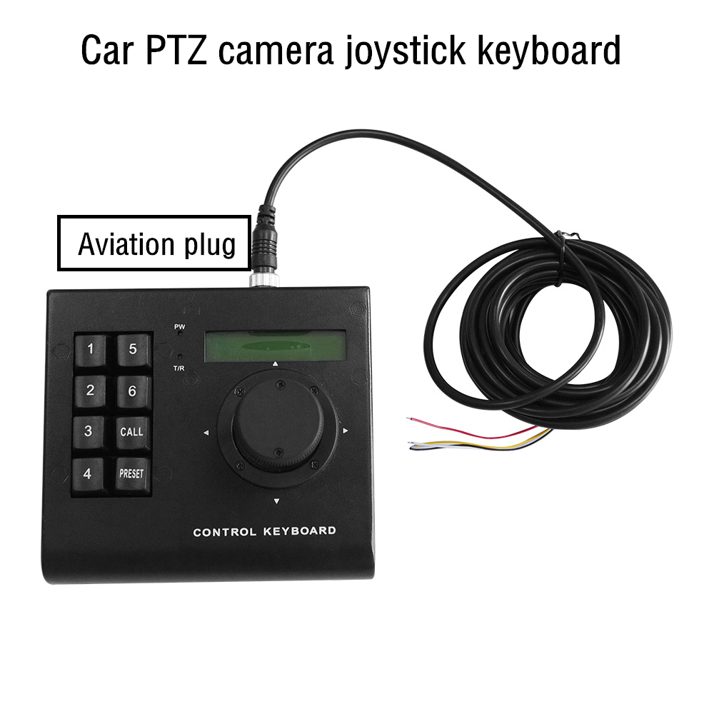 Low Cost Mini Keyboard Controller Car High Speed Dome Camera Keyboard 3D Joystick Analog PTZ Camera RS485 For Automotive Use