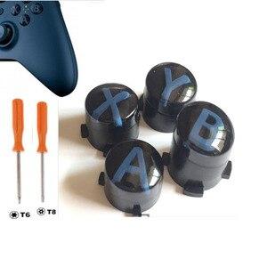 Image 2 - Personalizado para xbox um controlador de elite magro kit botão abxy botões bala peças reparo mod kit substituição com t8 t6 parafuso driver