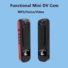 IDV009 Mini Cámara Full HD 1080 P Mini Cámara de 180 Grados gire La Pluma de Grabación De Voz Mini DVR Cámara de Vídeo Pequeño videocámara