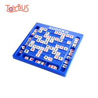 Toybus Sudoku Cube Math Logic Toy Number Crossword Puzzles Games Board Intellgence Educational Jigsaw Toys For