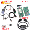 Lexia3 With NEC Relays Serial 921815C Lexia 3 Diagnostic Tool Diagbox 7.83 Lexia 3 PP2000 +PSA 30 pin +S1279 cable DHL shipping
