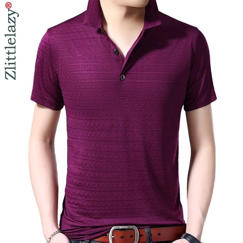 100% Wahr 2019 Marke Casual Sommer Solide Kurzarm Polo Shirt Männer Polo Jersey Luxus Herren Polos T-shirts Kleid Fashions 42240 Fortgeschrittene Technologie üBernehmen
