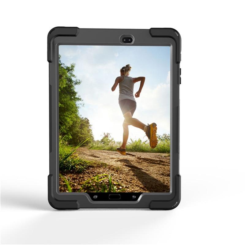 For Tab S3 SM-T820 Kids Funda rígida de silicona resistente a prueba - Accesorios para tablets - foto 2