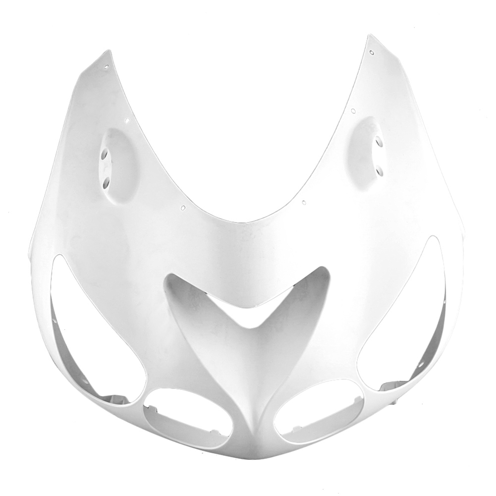 For KAWASAKI ZX14R Upper Front Nose Cowl Fairing 2006-2011 Motorbike Part Accessory Injection Mold ABS Plastic Unpainted White mouse component plastic injection mold cnc machining household appliance mold ome mold