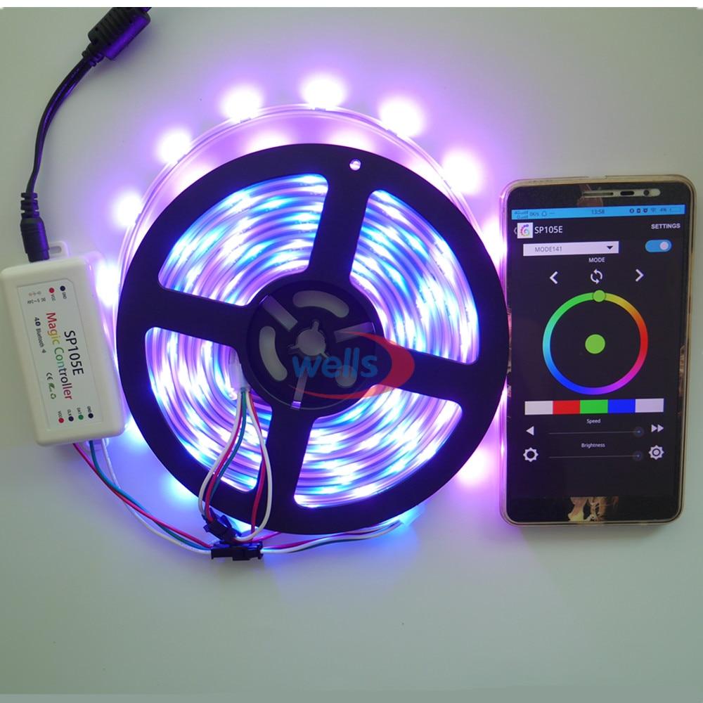 Նոր Bluetooth SPI LED կարգավորիչ SP105E տարբեր - Լուսավորության պարագաներ - Լուսանկար 3