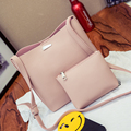 ONE SET TWO BAGS - Summer Autumn Women Composite bags one price two bags lady messenger crossbody bag leisure cute handbag