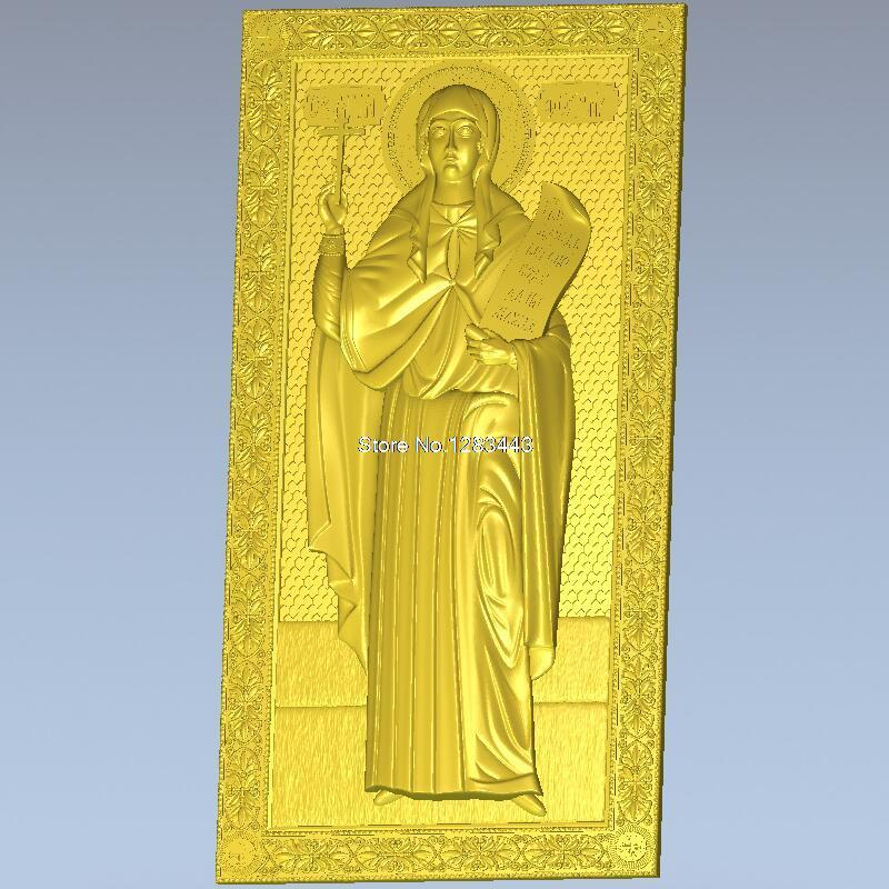 High quality New 3D model for cnc 3D carved figure sculpture machine in STL file Fotina Samaritan7F martyrs faith hope and love and their mother sophia 3d model relief figure stl format religion for cnc in stl file format