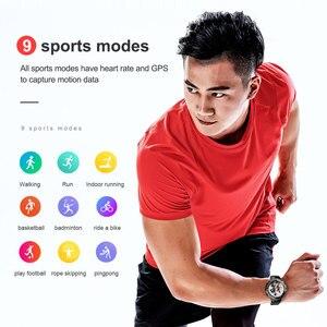 Image 3 - MOKA 4Gสมาร์ทนาฬิกาผู้ชาย400*400หน้าจอAMOLED Android 7.1 MTK6739 5MP Dualกล้องGPS WiFi smartwatchสำหรับIos