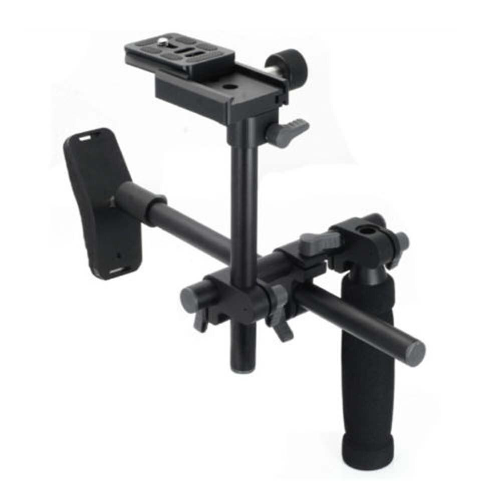 DSLR Handle Shoulder Support Rig Stabilizer Quick Release Plate 1/4