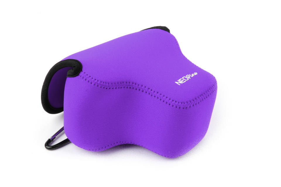 Neopine Original Neoprene Soft Camera Protective Case Bag Cover For Canon Powershot Sx60 Hs Black Red Blue Purple Yellow Option Camera/video Bags