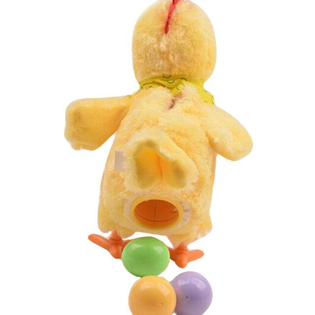 30 см Смешно Электрический Откладывают Яйца Кур Новизна Сумасшедший Петь и Танцевать Электронные Плюшевые Животные рождество Подарок!