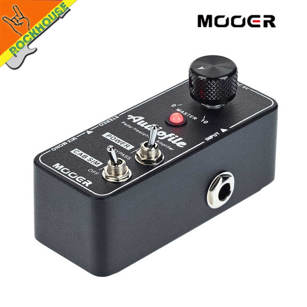 US $79 26 |MOOER Audiofile Amplifier Pre amp Guitar Pedal Analog Class A  amplification circuit with Cabinet Simulation Stereo Mono input-in Guitar