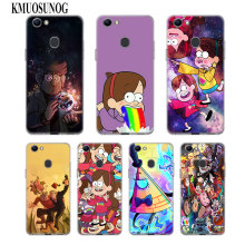 Transparent Soft Silicone Phone Case Gravity Falls Family Art oo