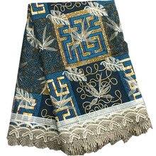 Очень красивая hollandais африканская кружевная ткань, новое нигерийское кружево для женщин Свадебное платье df30-1679