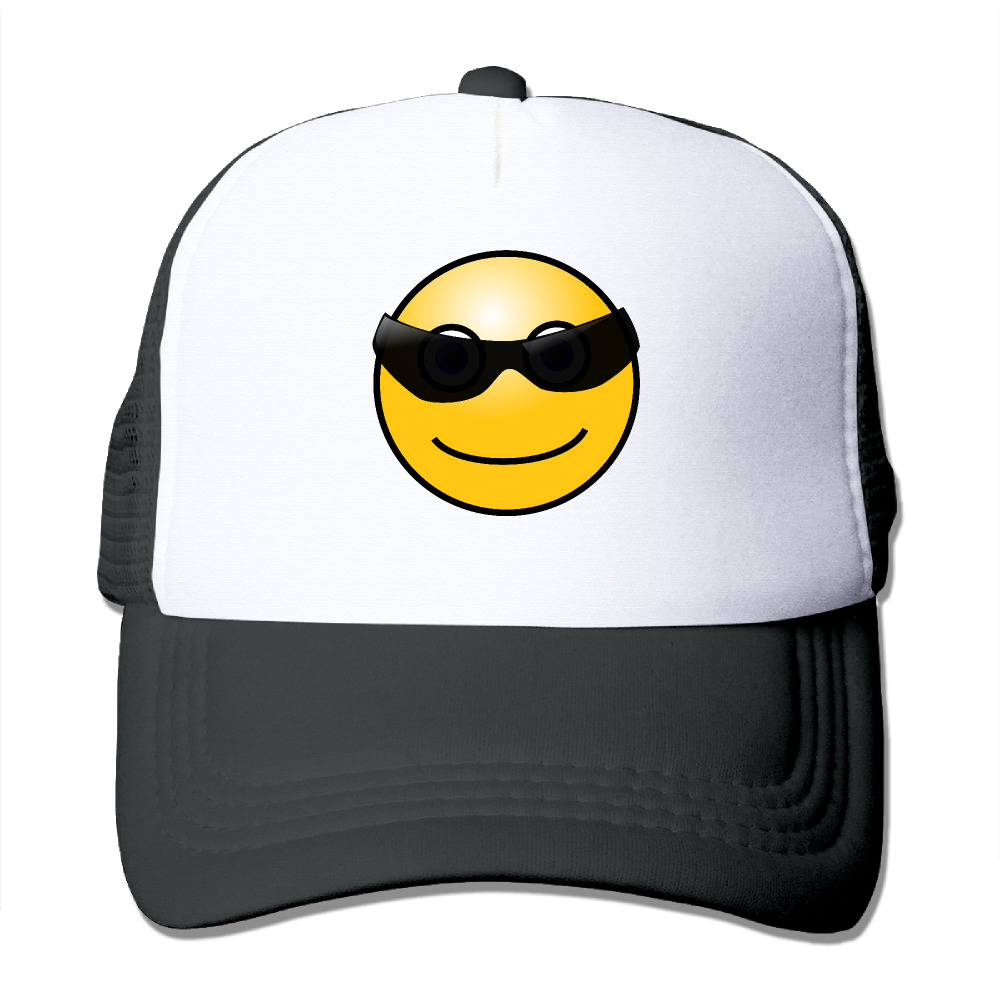 93e4aceebaecf DUTRODU Unisex Baseball caps Meshback Cool Smiley Face Hat Caps hip hop hat  vary colors fitted-in Baseball Caps from Apparel Accessories on  Aliexpress.com ...