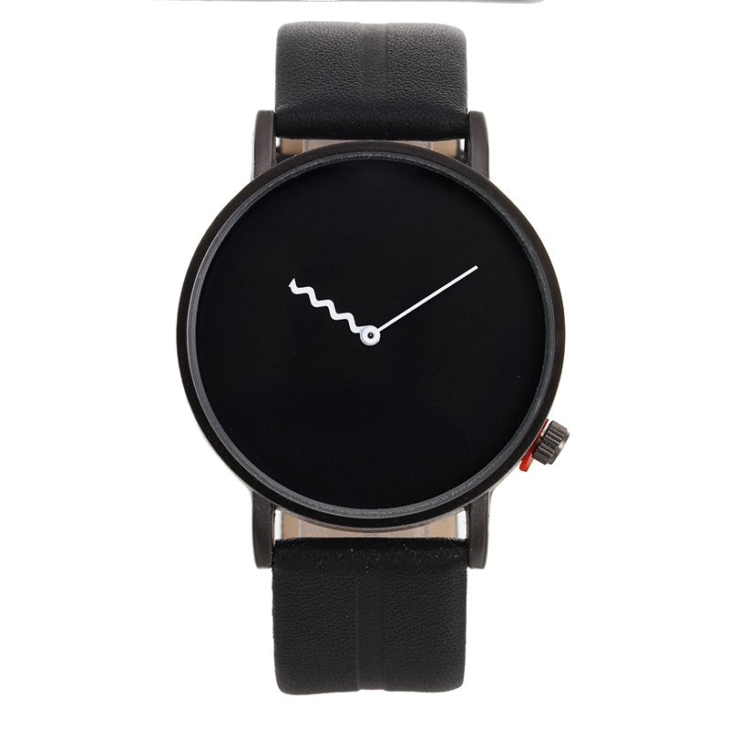 Luxury Brand Minimalism Popular Men casual wristwatch Lady Leather Quartz Watch Fashion male dress clock hour relogio Drop ship