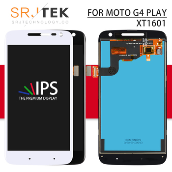Écran pour Motorola Moto G4 jouer LCD écran tactile numériseur assemblée complète avec cadre pour Xt1601 affichage Xt1602 XT1603 Xt1604