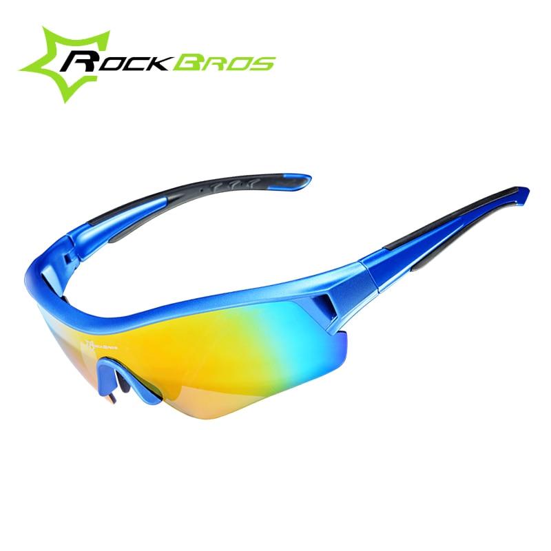 Prix pour Rockbros polarisées vélo lunettes de sport lunettes de soleil uv 400 hommes et femmes de vélos vélo lunettes de soleil myopie cadre ciclismo 3 lentilles
