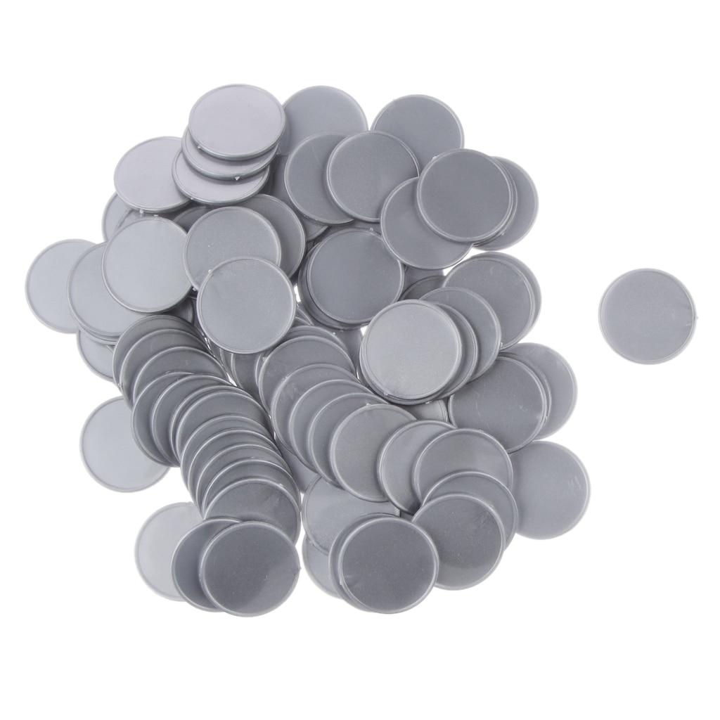 100pcs-25mm-plastic-casino-font-b-poker-b-font-chips-bingo-markers-token-kids-fun-toy-gift-silver