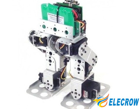 Elecrow High Quality Biped Robot Kit Without Servo Diy Kit Electronic Robot Equitement Automatic Module Kit Free Shipping