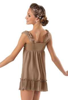 Children\'s Ballet Dancing Dress Adult Chiffon Modern Dance Costumes Girls Jazz Dance Performance Wear Acrobatic Dress D-0440