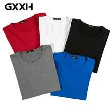 325a901bea61 GXXH OverSize Camisa de T dos homens 2017 Venda Quente de Outono Longo Dos  Homens Roupa Masculina de manga comprida Casuais Asse.