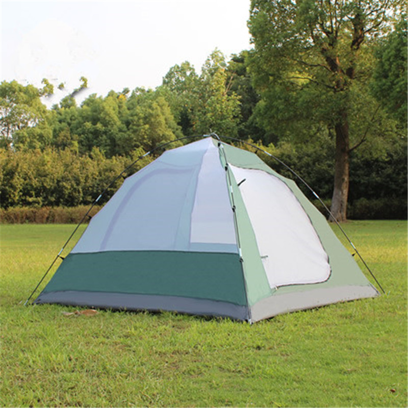 Image 4 - Samcamel 3 4 Person Large Family Tent Camping Tent Sun Shelter Gazebo Beach Tent Tente Camping Awning Advertising/exhibition-in Tents from Sports & Entertainment
