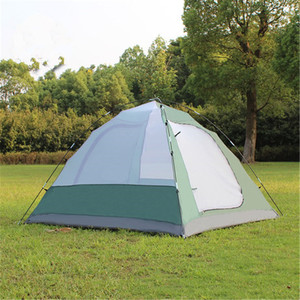 Image 4 - Samcamel 3 4 Person Large Family Tent Camping Tent Sun Shelter Gazebo Beach Tent Tente Camping Awning Advertising/exhibition