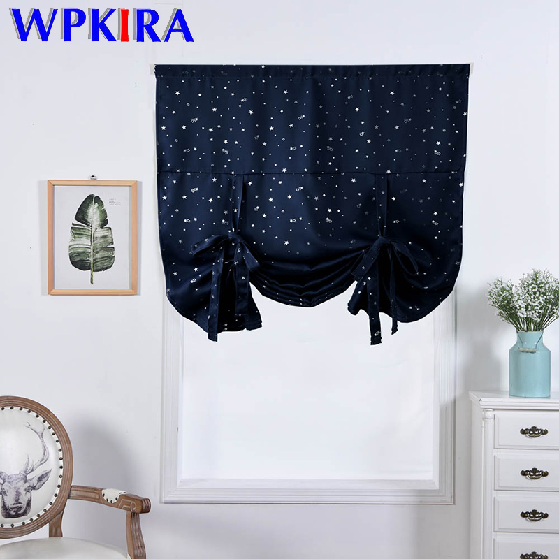 Shiny Stars Solid Green Roman Curtains Blinds Short Window Curtain Pink Cloth Window Treatments Roman Curtain Blackout Dl041-40 Fashionable And Attractive Packages Window Treatments