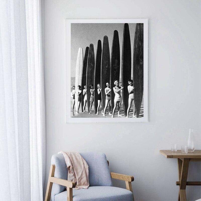 Art Prints Gift For Surfer Vintage Surf