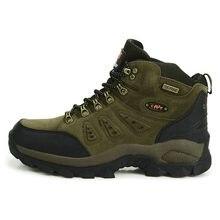 6801a212f1 High Quality Unisex Hiking Shoes For Men Women High Cut Waterproof Hiking  Boots Autumn Winter Trekking Mountain Climbing Shoes