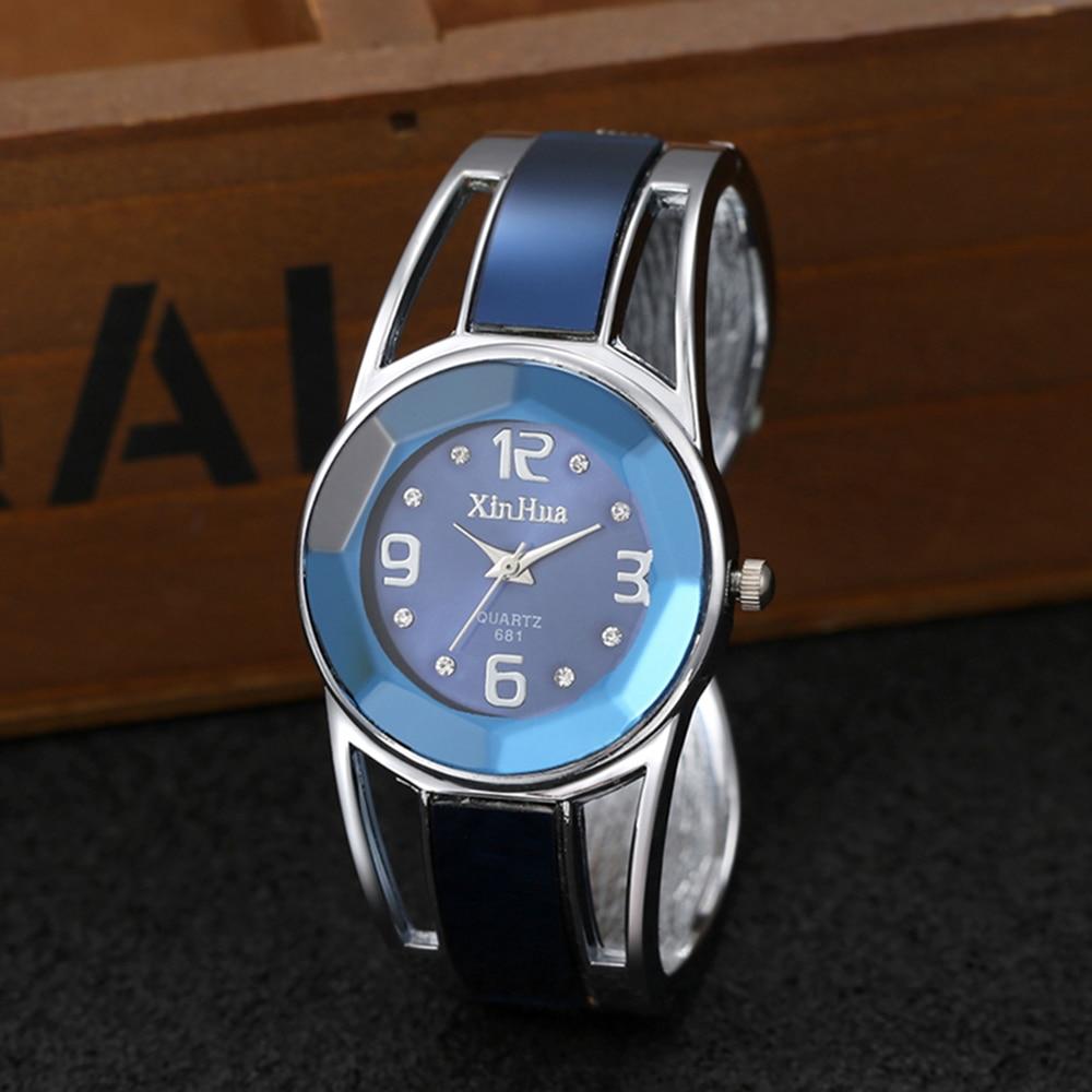 reloj mujer 2019 Hot Sell Xinhua Bracelet Watch Women Luxury Brand Stainless Steel Dial Quartz Wristwatches Ladies Watch 3