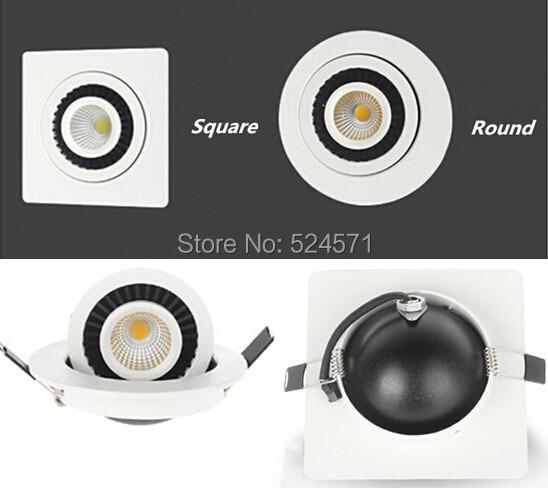 Бесплатная доставка вел Подпушка свет затемнения 15 Вт встраиваемые painel лампы вращения 360 градусов вращающийся Luminaria AC85V-265V CE и rohs