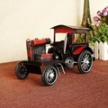 8269 Red Iron Car Model Old Style Restoring Ancient Ways Nostalgic Memories Gift
