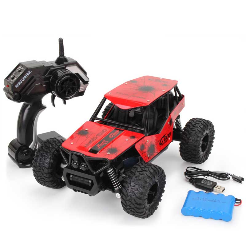 2018 Newest RC Car Rechargeable Electric Car Remote Control 2.4G Shaft Drive Truck Climbing Off-road High Speed Drift Car 2018 newest rc car a959 electric toys remote control car 2 4g shaft drive truck high speed rc car drift car rc racing include ba