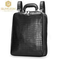 Hot 2017 Brand Laptop Business Genuine Leather Backpack Men traveling Backpacks Daily Business Bag School Bags Men's Backpack