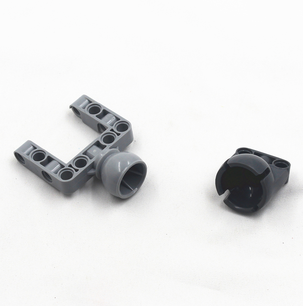 Building Blocks BulkTechnic Parts 2pcs POWER JOINT & 2pcs POWER JOINT BALLPART Compatible With Lego For Kids Boys Toy