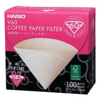 Japan Imports Hario V60 Coffee Filter 01 02 Count Coffee Natural Paper Filters For 4 Cups For Barista VCF-01-100 Dripping Paper