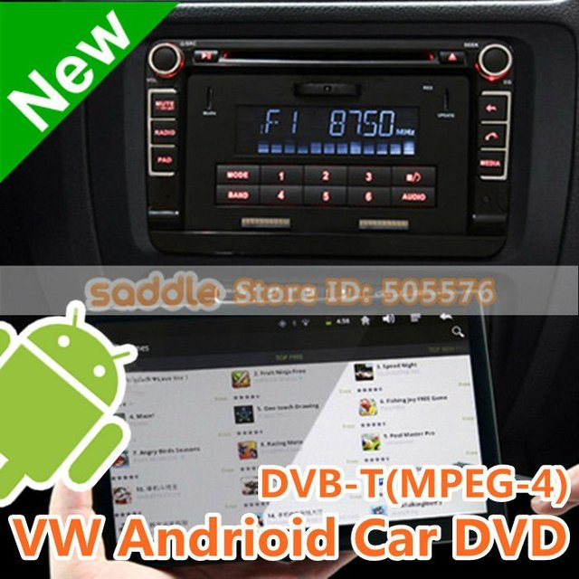 "VW Android Car Pad , 7"" VW Car DVD with GPS + Can-Bus + DVB-T(MPEG-4) + RDS + 512M RAM + 4G ROM + Wifi + 3G + FreeShipping!"