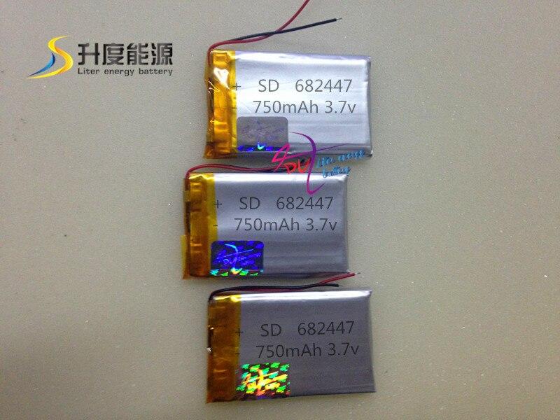 750 Mah Li-polymer Batterie Ein Kunststoffkoffer Ist FüR Die Sichere Lagerung Kompartimentiert Lipo Batterie 682447 3,7 V 750 Mah Großhandel Alibaba!!