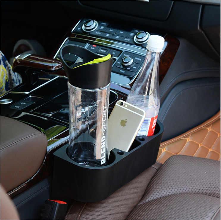 Asiento para teléfono móvil caja tres en uno soporte para bebidas automóvil multifuncional