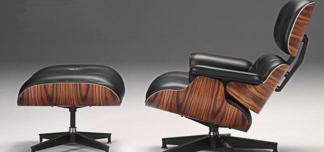 Mid Century Moderne Klassische Palisander Sperrholz Chaise Lounge