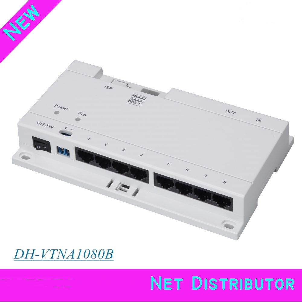 DH 8-CH Unit Net Distributor VTNA1080B Support 60 cascading Export English version Without Logo DH-VTNA1080B цена