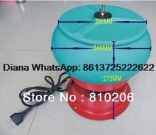 Mejor Descuento!!! 3 kg Mini Vaso Vibratorio Medios, Wet Dry Pulidoras, Finisher y Limpiador, herramienta de la joyería